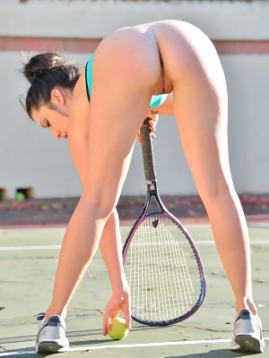 Carrie in Buttalicious Tennis at FTV Girls