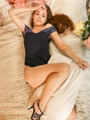 Alesya Razorvalo presents tight tiny ass and virgin snatch at Defloration - image 5