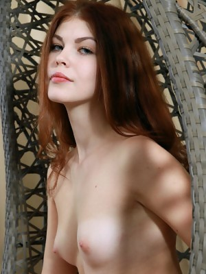 Red haired wonder Foxy has the sweetest shapes and yummy pussy